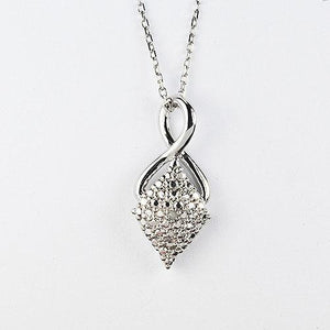 Sterling silver pendant with CZ