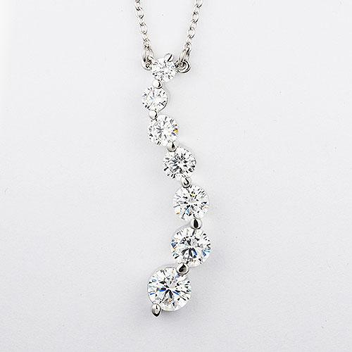 Sterling silver necklace set with a 16 inch chain