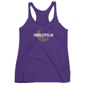 No Sleep Club - Racerback Tank