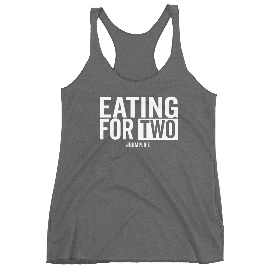 Eating For Two - Racerback Tank