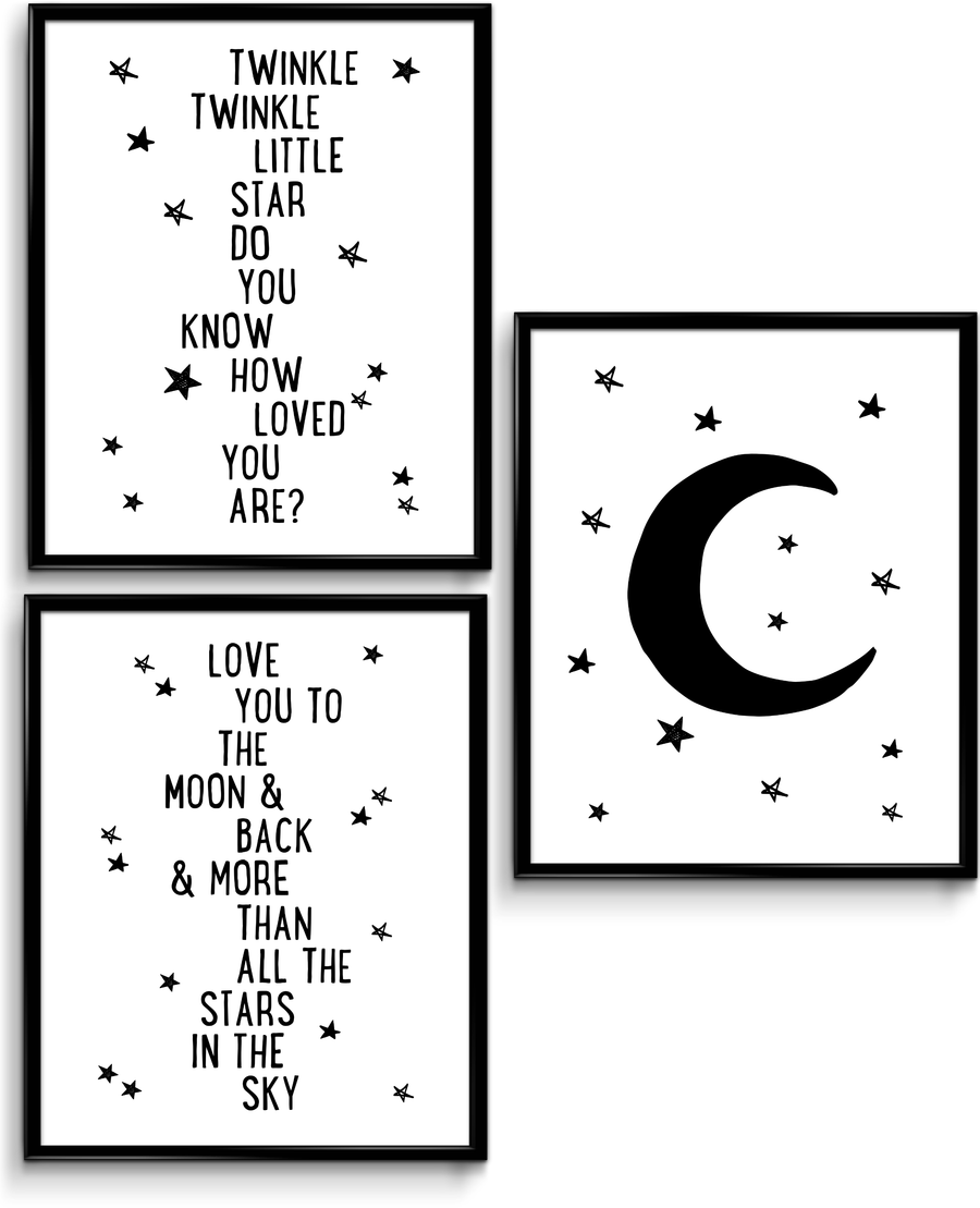 Twinkle Twinkle Bundle (3 Prints)