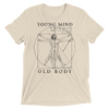 """Young Mind Old Body"" Men's Premium T"