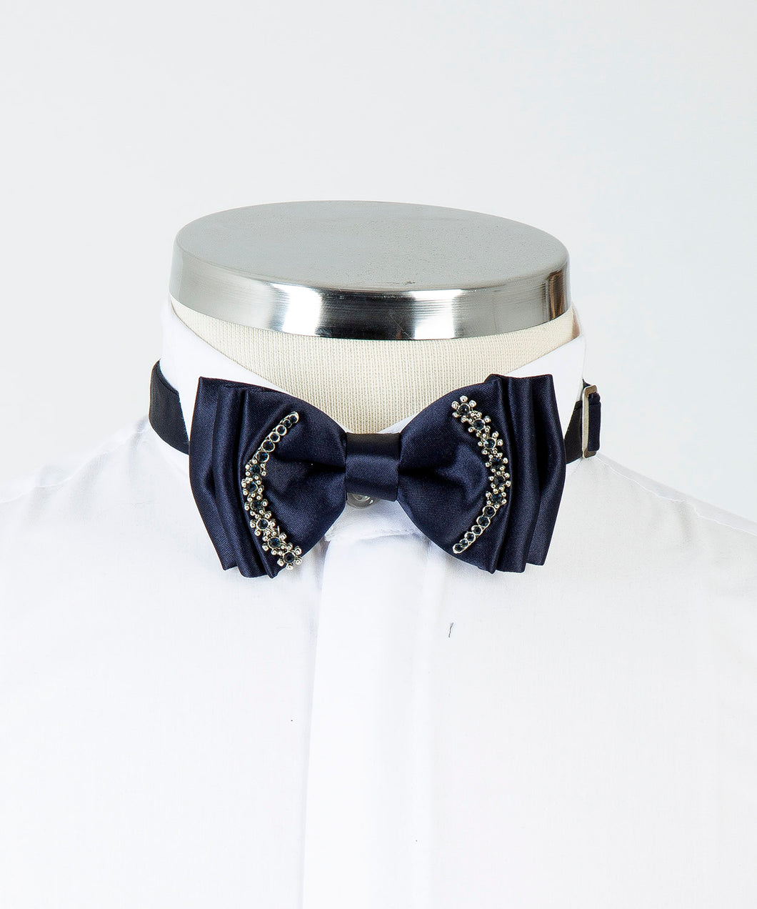 Ornamental Bow Tie - Navy Blue
