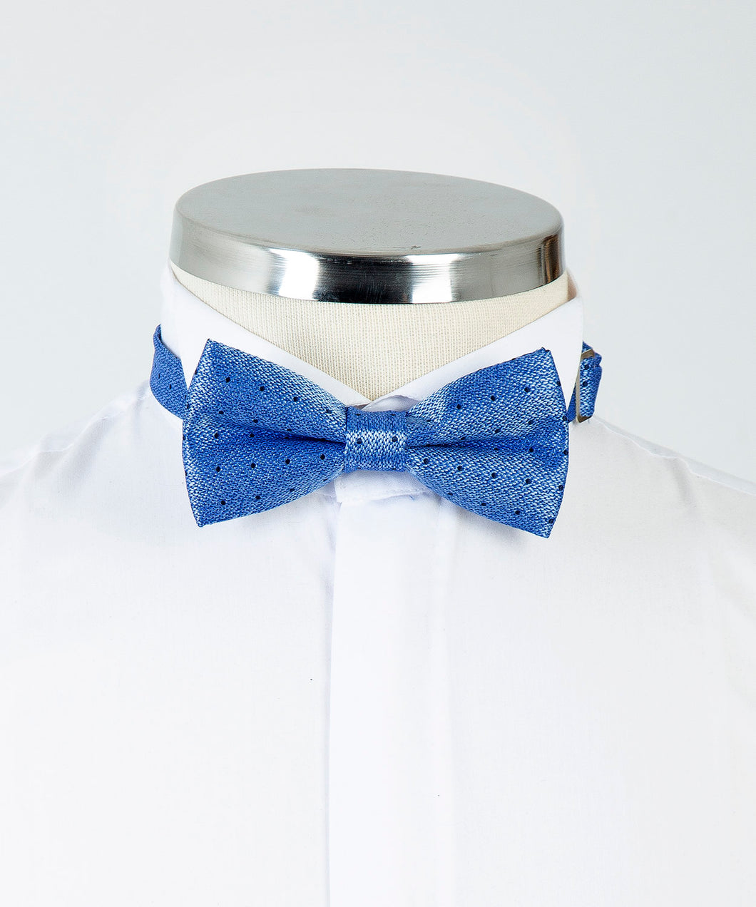Patterned Bow Tie - Blue