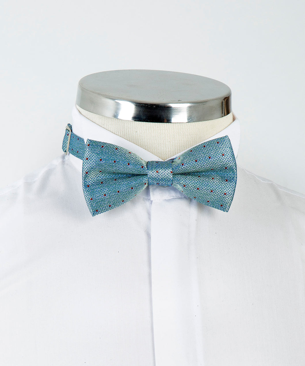 Patterned Bow Tie - Light Blue