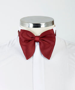 Ceremonial Bow Tie - Claret Red