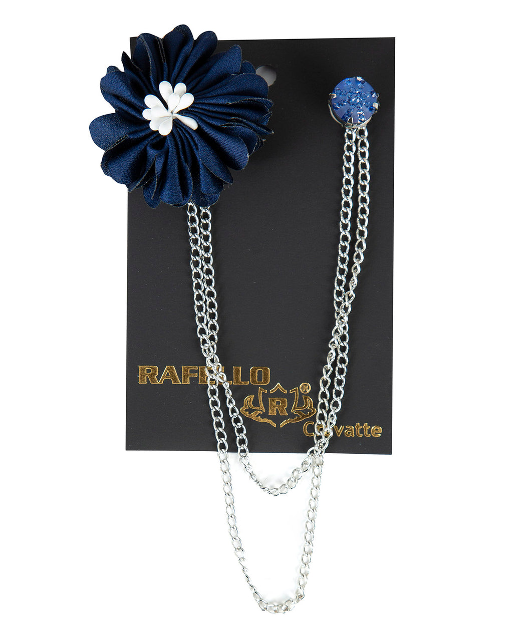 Collar Ornament - Navy Blue