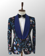 Load image into Gallery viewer, Digital Print One Button Tuxedo