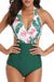 Halter Neck Cute Girl One Piece Swimwear