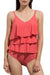 Sweet Girl Solid Color Tankini Set