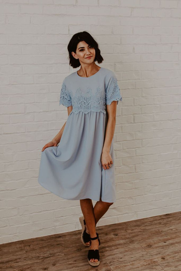 Short Sleeved Eden Dress