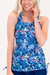 Sunset Drive Swim Tankini Top
