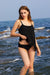 Deep Feeling Solid Tankini Set