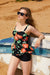 Fashion Floral Printed Tankini Set