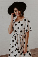 Piper Polka Dot Midi dress