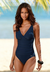 SOFT CUP RUCHED ONE-PIECE