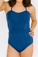 Navy Classic One-Piece