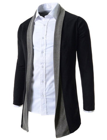 Men's Sweaters Stitch Slim Fit Cardigan Men Casual