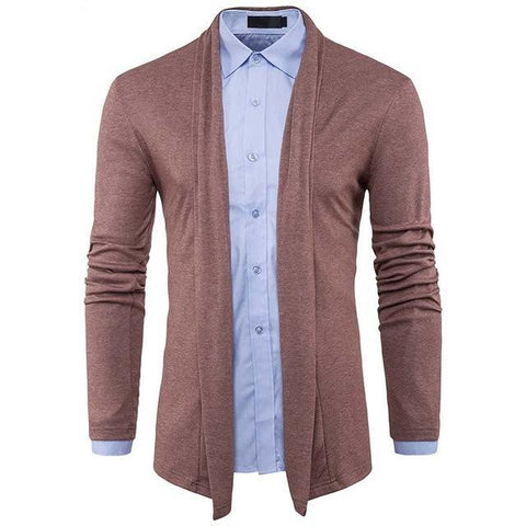 New Arrival Autumn Men's Solid Color Cardigan Sweaters Fashion