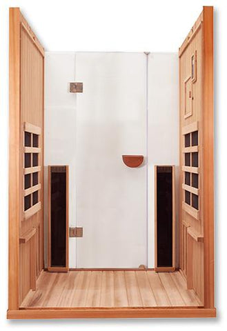 Image of 2 Person Full Spectrum Clearlight Infrared Sauna Sanctuary 2 - Heavenly Skin HQ