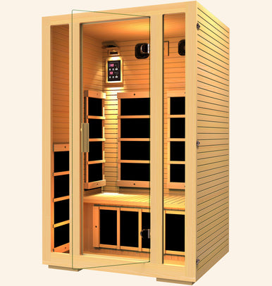 JNH Lifestyles Joyous 2 Person Infrared Sauna