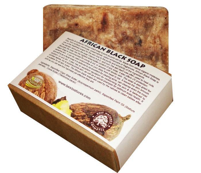 African Black Soap for Acne - All Natural SLS Free - Heavenly Skin HQ