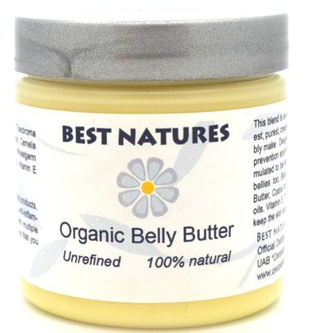 Best Natures Belly Butter 120ml / 4oz - Heavenly Skin HQ