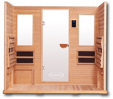 Clearlight Premier IS-5 Five Person Far Infrared Sauna - Heavenly Skin HQ