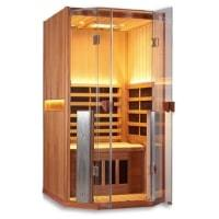 Clearlight Sanctuary 1 Full Spectrum One Person Infrared Sauna - Heavenly Skin HQ
