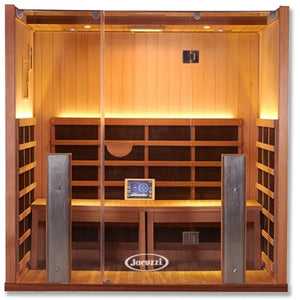 Clearlight Sanctuary Y Hot Yoga Full Spectrum Four Person Infrared Sauna - Heavenly Skin HQ