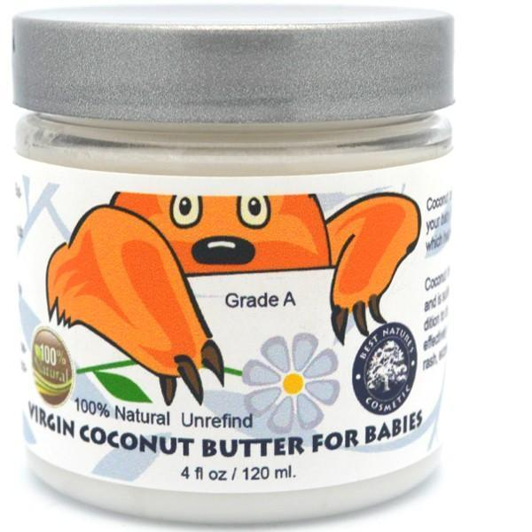 Coconut Butter for babies 120 ml / 4 oz - Heavenly Skin HQ