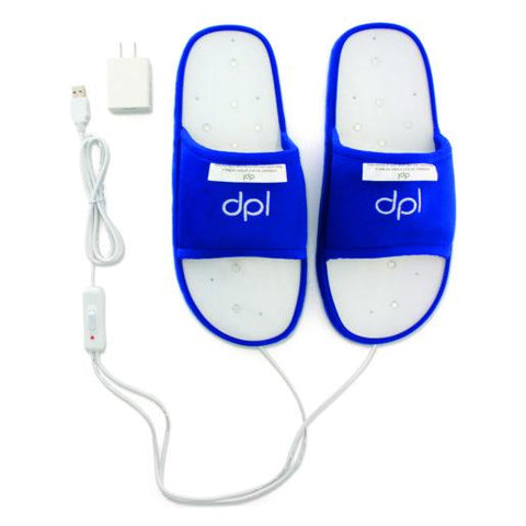 Image of dpl® Slipper—Foot Pain Light Therapy - Medium or Large - Heavenly Skin HQ