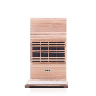 Image of Enlighten Sierra - 2 Person Full Spectrum Outdoor Infrared Sauna - Heavenly Skin HQ
