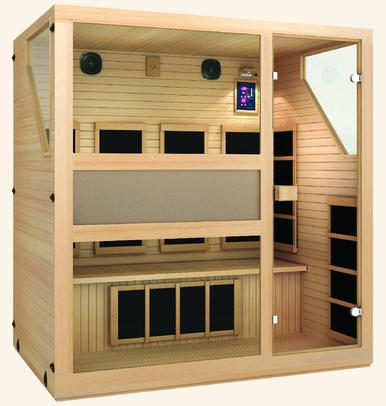 Image of Ensi™ 4 Person Far Infrared Sauna Fall Sale (Save $1000) - Heavenly Skin HQ