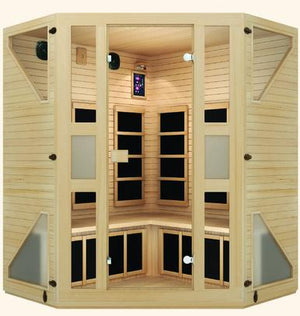 Ensi™ Corner 4-5 Person Far Infrared Sauna Labor Day Sale (Save $1000) - Heavenly Skin HQ