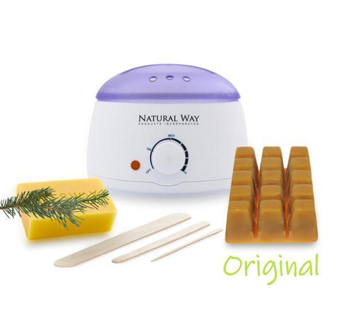 "Hard Wax Warmer Kit ""Original Formula"" - 100% Natural - Heavenly Skin HQ"