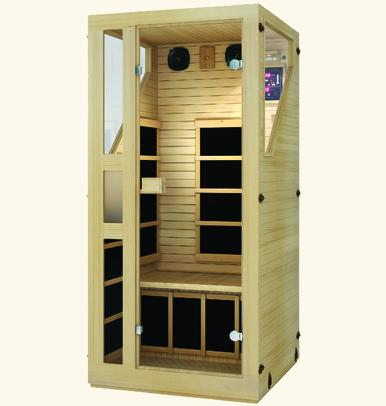 JNH Ensi™ 1 Person Far Infrared Sauna Fall Sale (Save $1100) - Heavenly Skin HQ