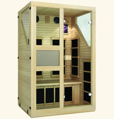 JNH Ensi 2 Person Far Infrared Sauna Fall Sale (Save $1200) - Heavenly Skin HQ