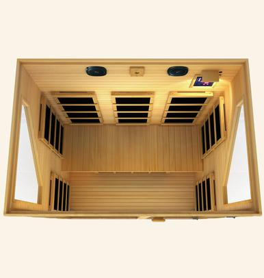 JNH Ensi 3 Person Far Infrared Sauna Fall Sale (Save $1200) - Heavenly Skin HQ