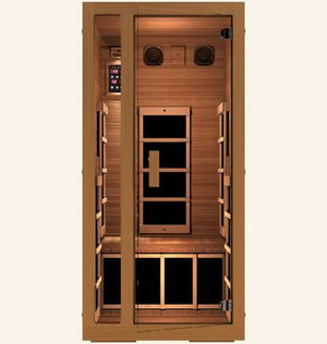 JNH Freedom 1 Person Infrared Sauna Labor Day Sale (Save $400) - Heavenly Skin HQ