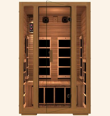 JNH Freedom 2 Person Infrared Sauna Labor Day Sale (Save $600) - Heavenly Skin HQ