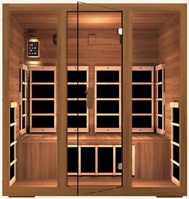 JNH Freedom 4 Person Infrared Sauna Labor Day Sale (Save $800) - Heavenly Skin HQ