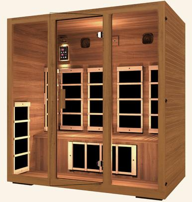 Image of JNH Freedom 4 Person Infrared Sauna Labor Day Sale (Save $800) - Heavenly Skin HQ