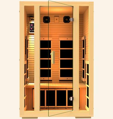 JNH Lifestyles Joyous 2 Person Infrared Sauna Fall Sale (Save $400) - Heavenly Skin HQ