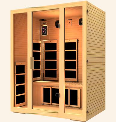 JNH Lifestyles Joyous 3 Person Infrared Sauna Fall Sale (Save $650) - Heavenly Skin HQ