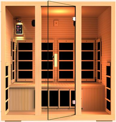 JNH Lifestyles Joyous 4 Person Infrared Sauna Fall Sale (Save $900) - Heavenly Skin HQ
