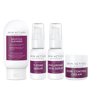 Oil and Blemish Control Flawless Kit by Skin Actives - Heavenly Skin HQ