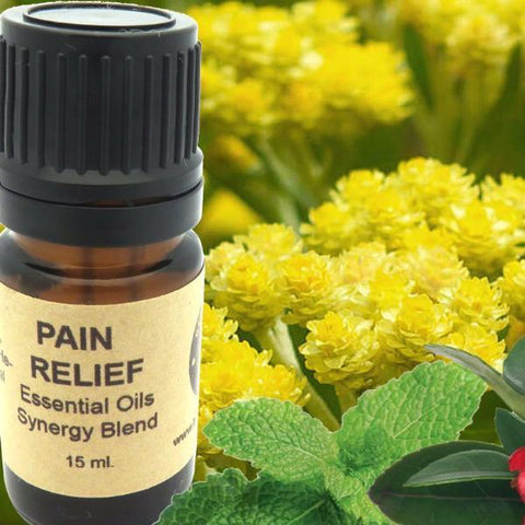 Pain Relief Essential Oils Synergy Blend. - Heavenly Skin HQ