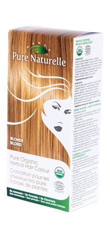 Pure Organic Herbal Hair Colour: BLONDE by Manas PURE NATURELLE - Heavenly Skin HQ