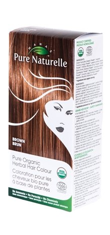 Image of Pure Organic Herbal Hair Colour: BROWN by Manas PURE NATURELLE - Heavenly Skin HQ